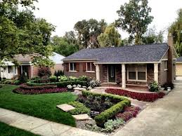 simple 7 front yard corner lot landscaping ideas on amazing