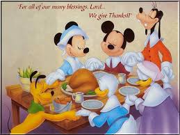 disney mickey mouse and friends thanksgiving prayers wallpaper