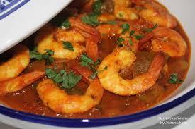 cuisiner des crevettes tajine aux crevettes culinaire by minouchka