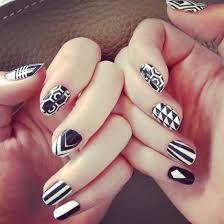 vogue nail polish new look for girls 2014