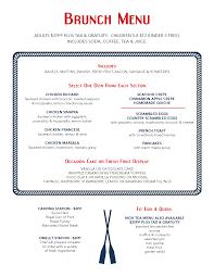 menu for brunch brunch buffet menu 50 images small home ideas