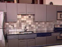 kitchen backsplash metal medallions voluptuo us