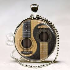 guitar necklace pendants images Guitar necklace acoustic guitar pendant musician gift music jpg
