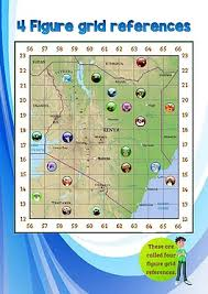 geographical map of kenya map skills worksheets