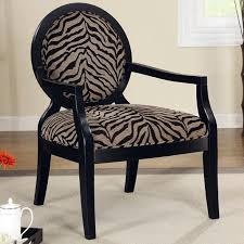 Leopard Print Accent Chair Animal Print Accent Chair Zebra Coaster Furniture Furniturepick