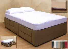 King Platform Bed With Drawers by Tiffany 8 Drawer Platform Bed Storage Mattress Box Lovely