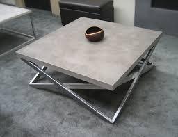 Concrete Patio Table Concrete Custom Contemporary Coffee Table Contemporary Living