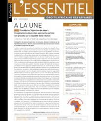 chambre d arbitrage de règlement d arbitrage de la chambre d arbitrage de guinée lextenso fr