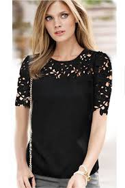 formal blouse jhonpeter lace decorated blouse sleeves formal shirt