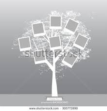 royalty free vector family tree design with frames 61788724