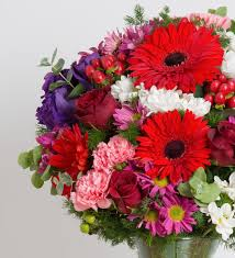 colors splash roses gerberas lisianthus and carnations colorful splash