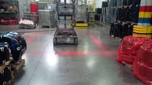 blue warning lights on forklifts red zone danger area warning light forklift safety solutions