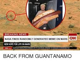 Breaking News Meme Generator - 1640 breaking news nasa finds randomly generated meme on mars cnn