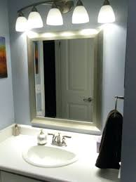 bathroom mirror with lights bq b and q bathroom mirrors