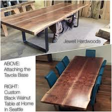 Live Edge Conference Table Oregon Woodworking News From Jewell Hardwoods