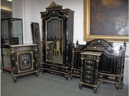 mobilier de chambre à coucher napoléon iii en marqueterie boulle