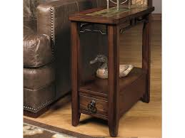 null furniture chairside table null furniture 5013 5013 07 chairside end table with inset stone top