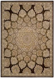 Brown Area Rugs Nourison 2000 2318 Brown Traditional Area Rug Carpetmart