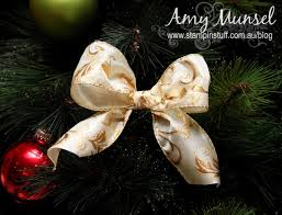 how to make a perfect christmas bow for a tree christmas