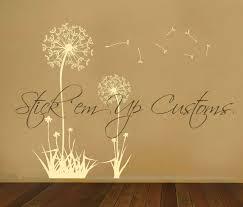 bedroom marvellous popular items for dandelion wall art on brown