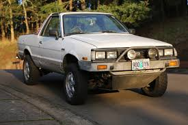 subaru loyale lifted 1986 subaru brat gl