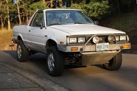 subaru wagon lifted 1986 subaru brat gl