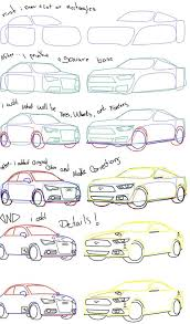 how do you draw a car step by step how to draw car easy steps for