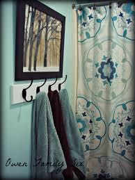 Bathroom Towels Ideas I Love These Hooks For The Kids Bathroom Instead Of A Towel Bar