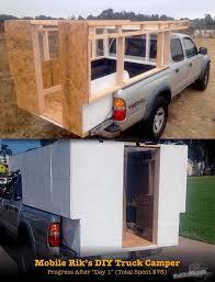 Truck Bed Trailer Camper Best 25 Homemade Camper Ideas On Pinterest Camper Van Diy
