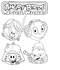 star wars coloring pages popular angry birds star wars coloring
