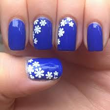 blue nails with designs gallery nail art designs