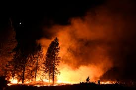 Wildfire Nutrition by Man Charged With Arson For Starting Fire That Caused Evacuation Of