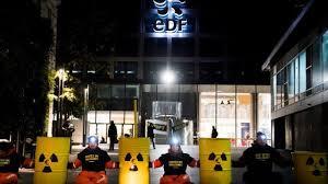 edf bureau greenpeace fait le siège d edf 3 ile de