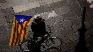 Estelada Flag Catalonia Bid To Break Free From Madrid Will Hurt Spain U0027s Economy