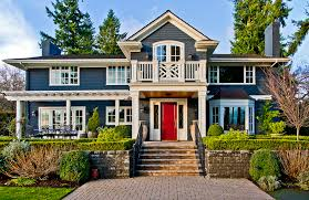 American Home Design Windows Outswing Exterior Door Exterior Traditional With Carriage Doors