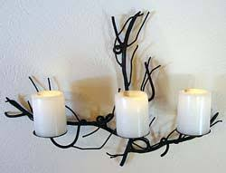 tree branch candle holder aspen designs aspen candle holders