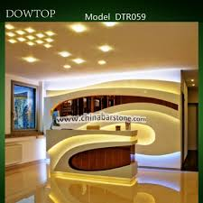 Marble Reception Desk Furniture Beauty Salon Custom Made Marble White Reception Desk