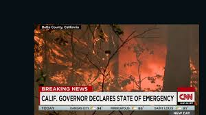 Wildfire Clearlake Ca by Wildfires Scorch Large Tracts Of California Cnn