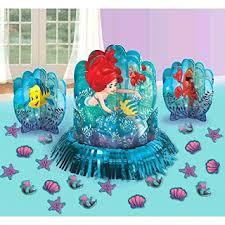 disney u0027s little mermaid themed party supplies and ideas fun