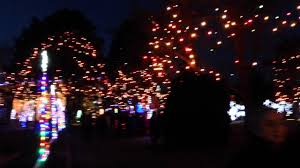 lights coming on at la salette shrine in attleboro ma 2013 youtube