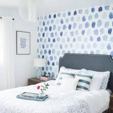 blue u0026 white modern coastal bedroom dwellinggawker