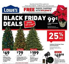 lowe s releases their 2017 black friday ad following other major