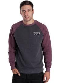 vans sweater vans rutland black port sweater impericon com worldwide