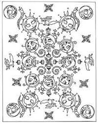 nightmare before mandala printable coloring book page