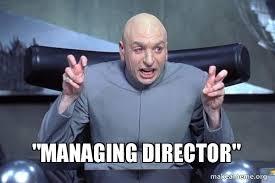 Director Meme - managing director make a meme