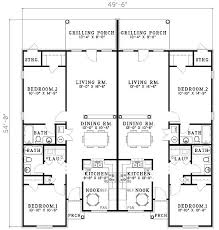 duplex floor plans for narrow lots 100 duplex plans craftsman duplex house plans luxury