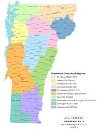 Vermont State Parks Map by Prevention Works Vt Coalition Map