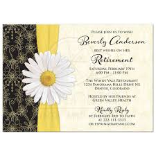 retirement invitations retirement party invitation black gold ivory