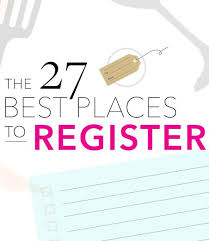 where to register the 50 best wedding registry stores