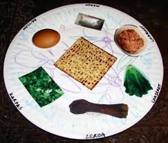 what goes on a seder plate for passover a paper seder plate for passover hebrew school easter and holidays